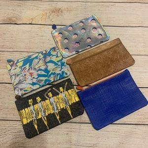 Ipsy Bag Lot 5 Make Up Cases Unused Bags